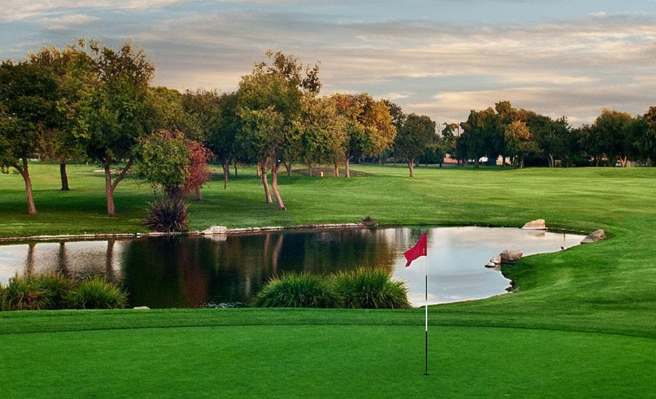 Hole Golf Course In Newport Beach Ca