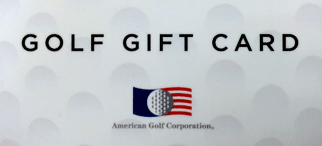 GIVE THE GIFT OF GOLF   American Golf Corporation